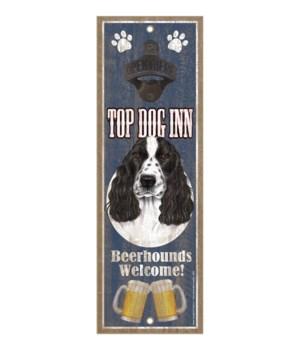 Top Dog Inn Beerhounds Welcome! Cocker S