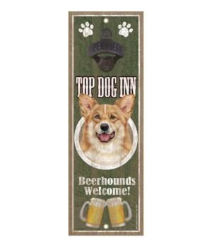 Top Dog Inn Beerhounds Welcome! Corgi