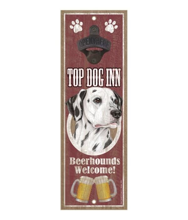 Top Dog Inn Beerhounds Welcome! Dalmatia