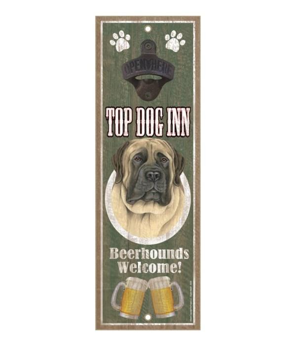 Top Dog Inn Beerhounds Welcome! English
