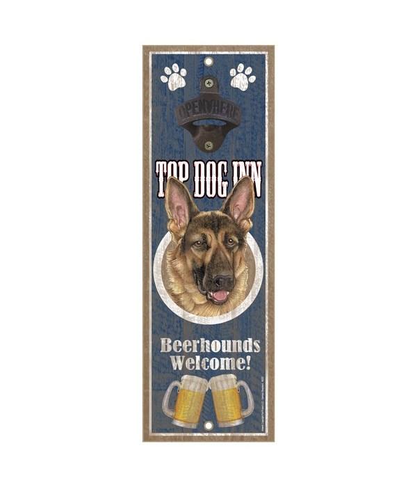 Top Dog Inn Beerhounds Welcome! German S