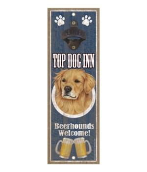 Top Dog Inn Beerhounds Welcome! Golden R