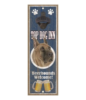 Top Dog Inn Beerhounds Welcome! Great Da