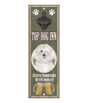 Top Dog Inn Beerhounds Welcome! Havanese