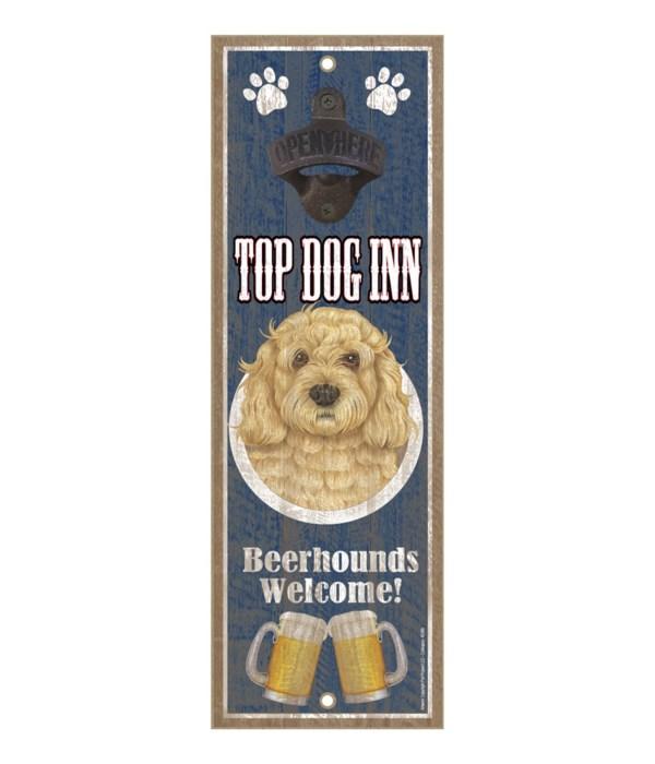 Top Dog Inn Beerhounds Welcome! Cockapoo