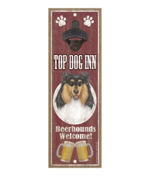 Top Dog Inn Beerhounds Welcome! Collie (