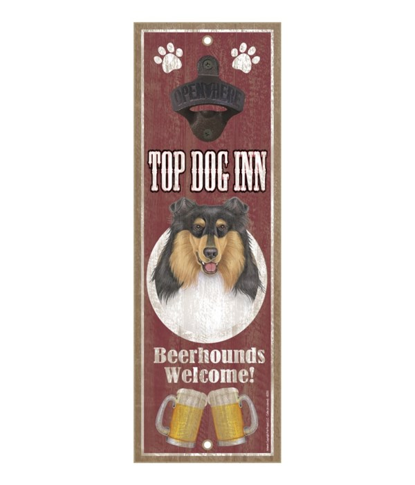 Top Dog Inn Beerhounds Welcome! Collie (