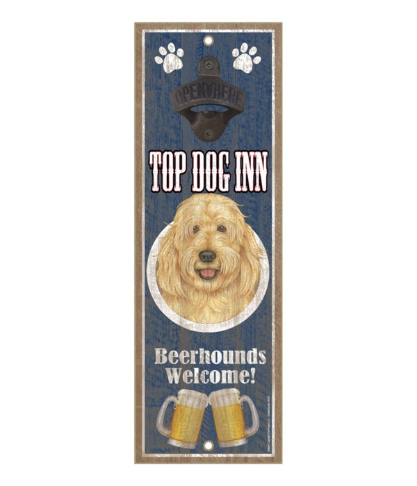 Top Dog Inn Beerhounds Welcome! Goldendo