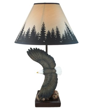 "*Eagle Lamp 15""/ shade"