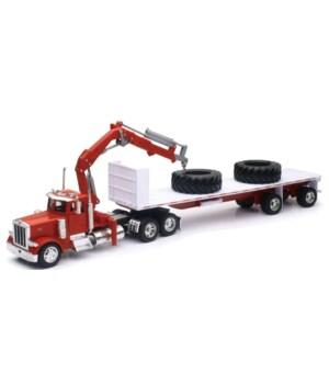 PB 379 w/ I-Beam on flatbed / Tires 1:32