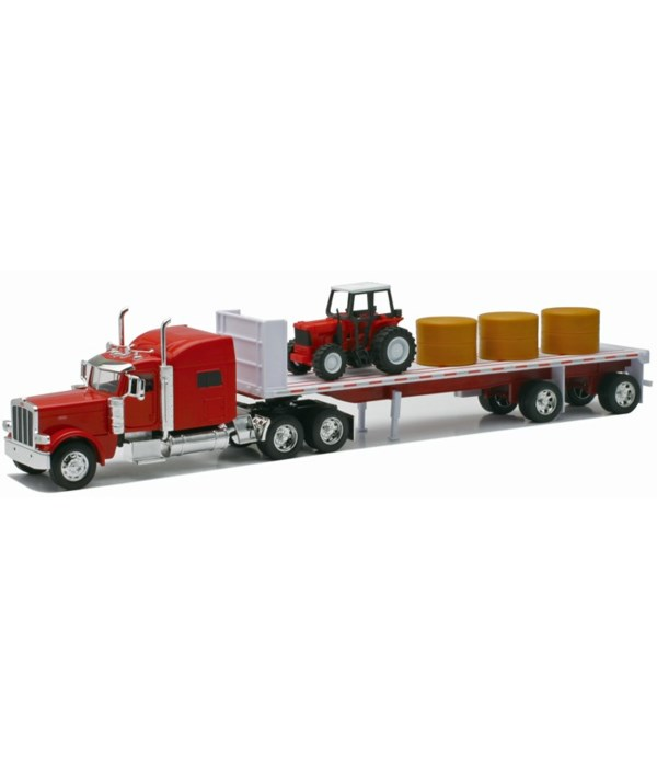 PB 389 w/hay & tractor 1:32 WB