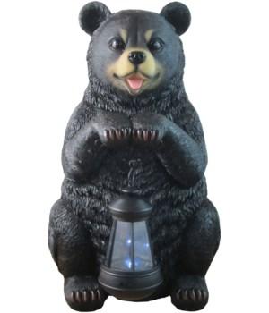 "Bear w/ lantern 15"""