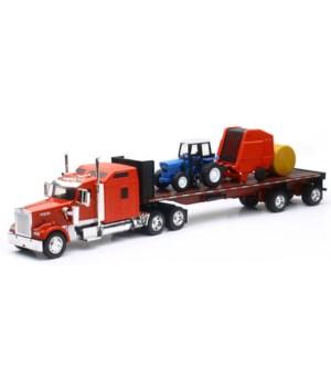 Kenworth W900/trailer/trctr/bale 1:32