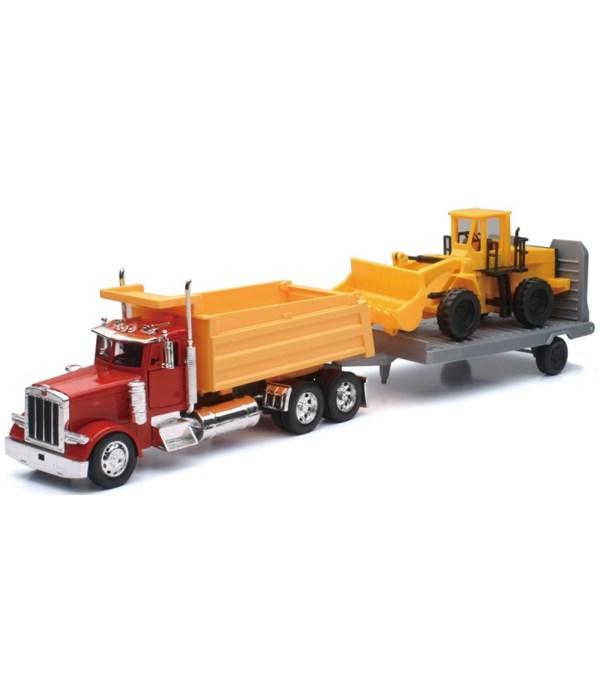 PB 379 dump truck w/constr 1:32