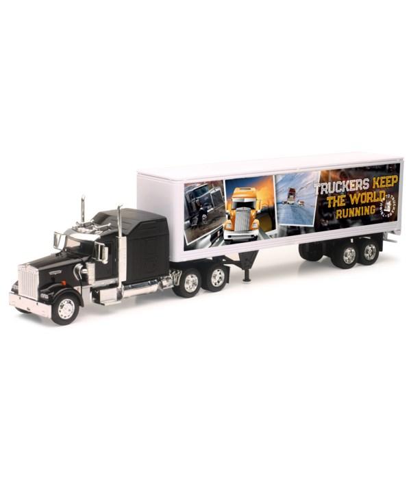 *KW W900 Trucker running 1:32 WB
