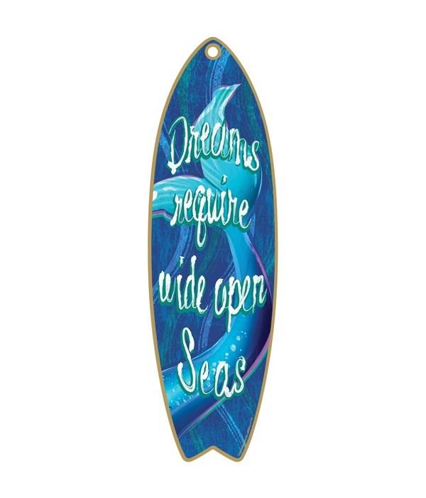 Mermaid Dreams Surfboard