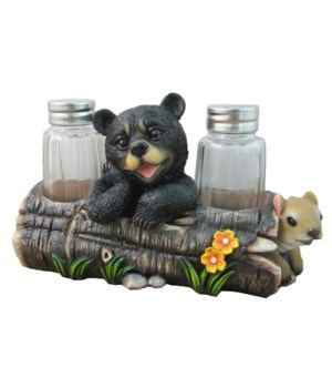 Bear Salt & Pepper Set - 7.25""