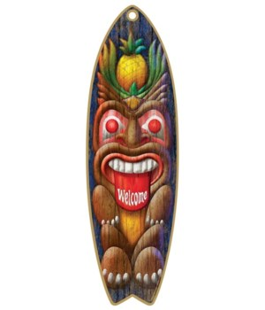 Tiki Welcome Surfboard