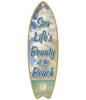 Sea Life's Beauty Surfboard