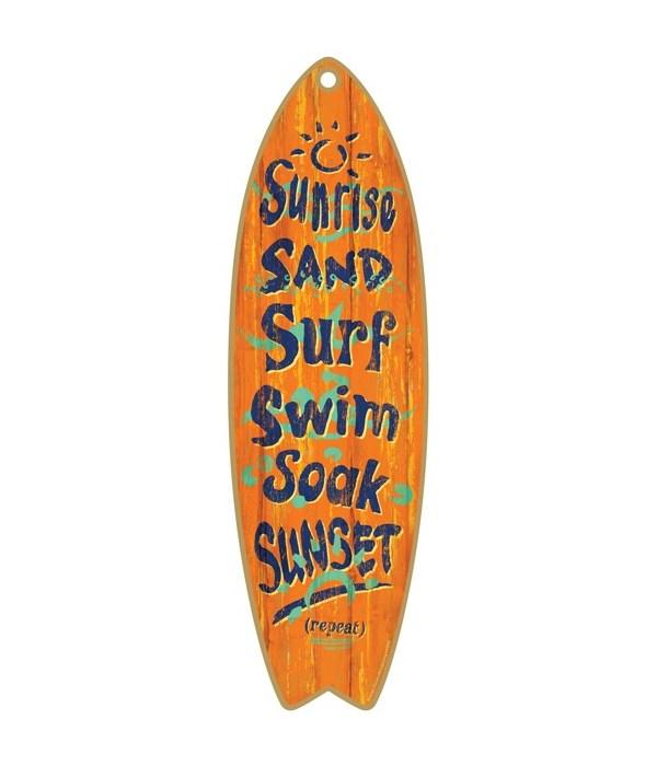 Sunrise to Sunset Surfboard