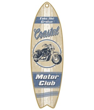 Coastal Motor Club Surfboard