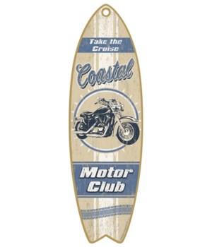 Coastal Motor Club Surfboard