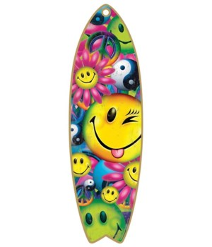 Balance Board, Smiley Face Surfboard