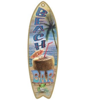Beach Bar Surfboard