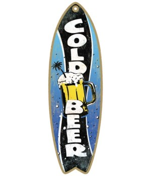 Cold Beer Surfboard