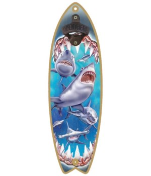 Shark Attack Surfboard