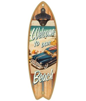 Welcome to the Beach Surfboard
