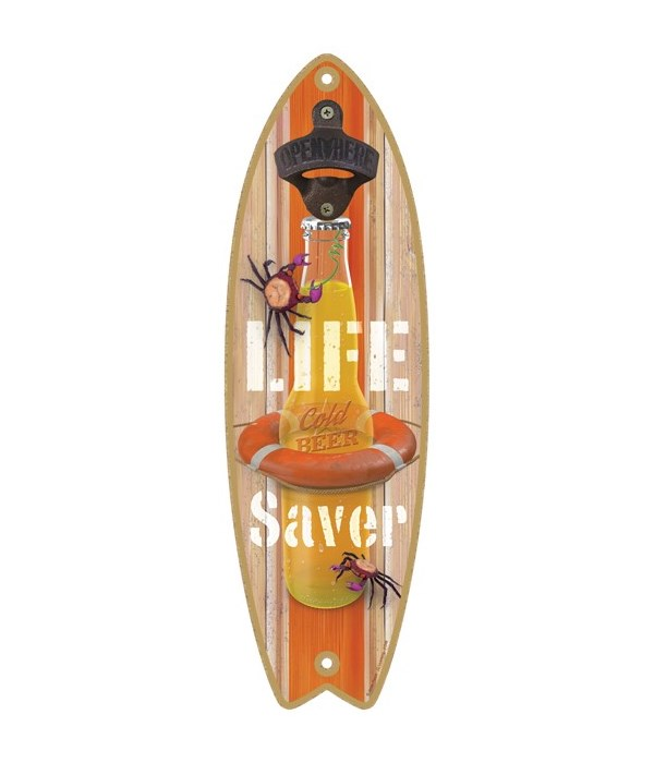 Life Saver (Beer bottle in a life preser