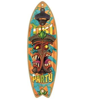 Tiki Party Surfboard
