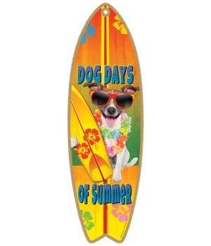 Dog Days of Summer (cute terrier with su