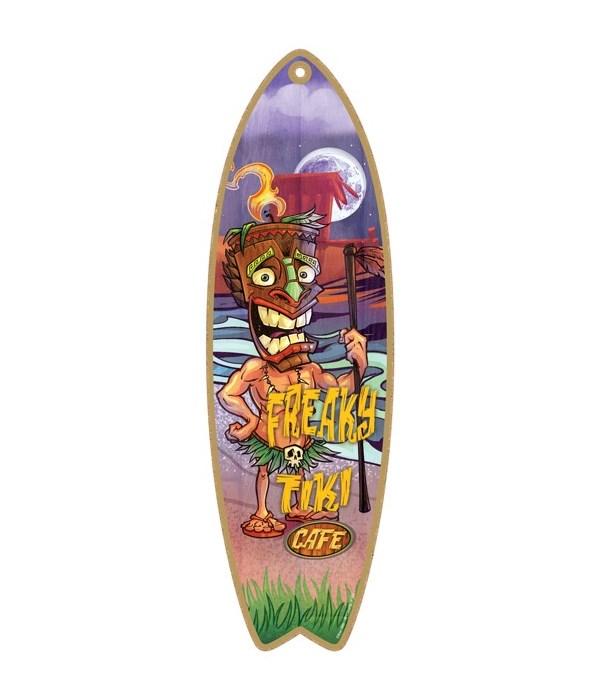 Freaky Tiki Café Surfboard