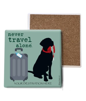 never travel alone (name droppable)