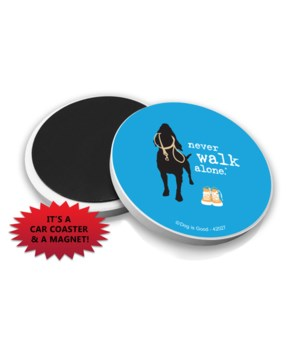 never walk alone (name droppable)