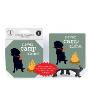 never camp alone (name droppable)