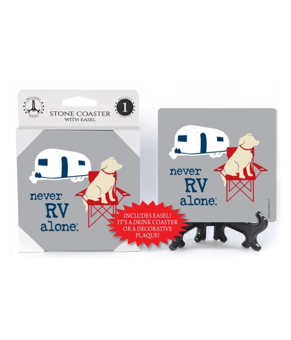 never RV alone (name droppable)