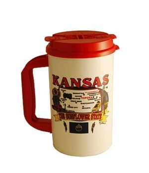 KS Mug Thermo State Map 32oz