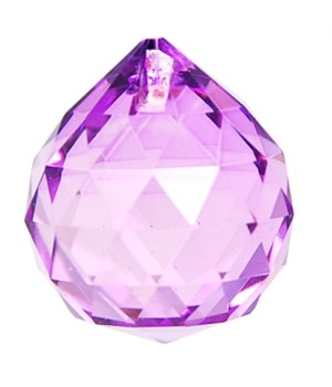 40MM Crystal ball/Plum