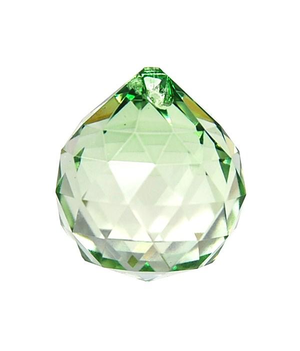 40MM Crystal ball/Shamrock Green
