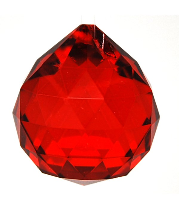 40MM Crystal ball /Red