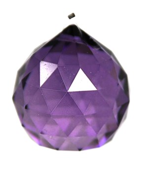 40MM Crystal ball /Purple
