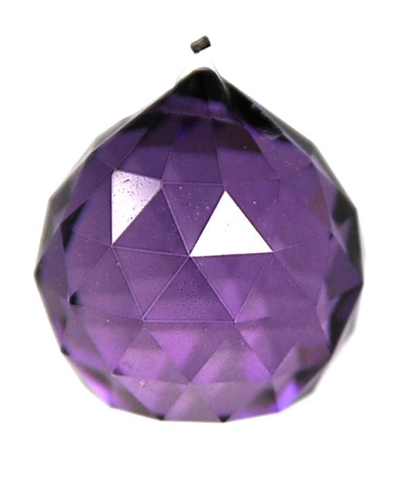 40MM Crystal ball /Purple