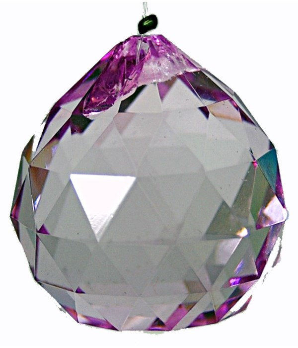 30MM Crystal ball-  Blue