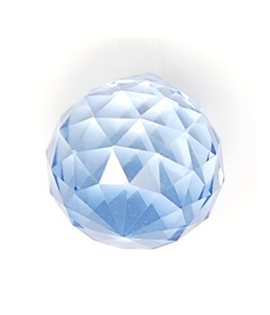 *30MM Crystal ball-Periwinkle PPL