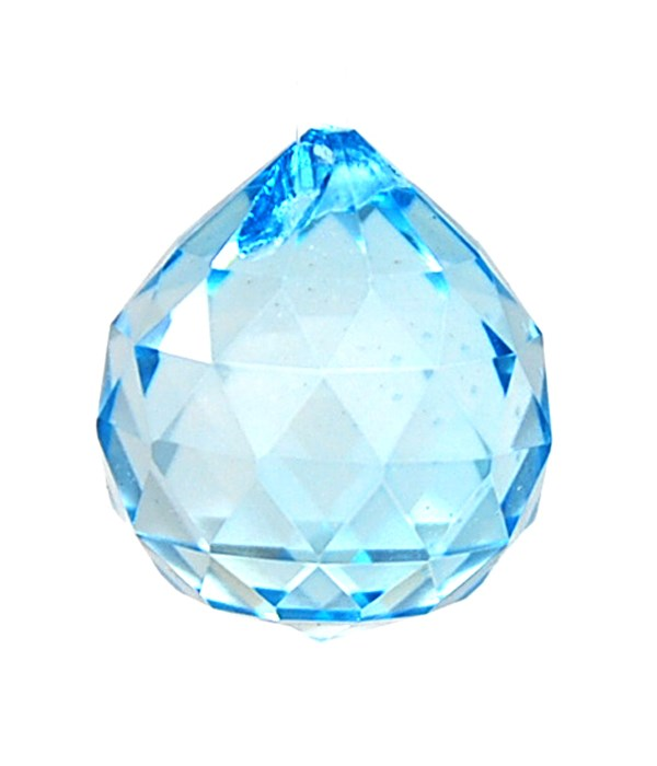 30MM Crystal ball- Sky Blue(lt tq)