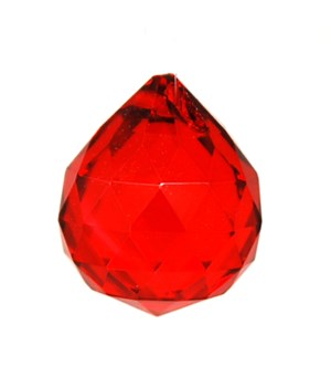 30MM Crystal ball- Red