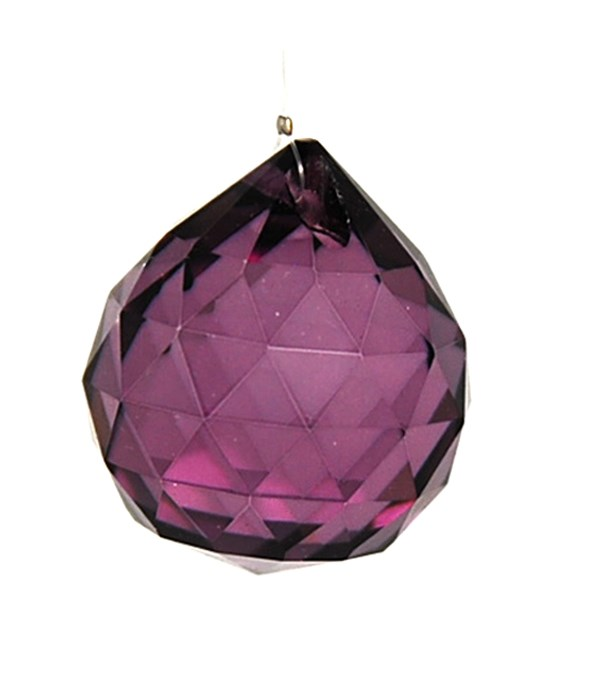 30MM Crystal ball-Purple